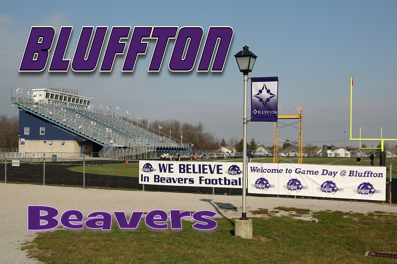 Bluffton University is located in Bluffton, Ohio, and is home to the Bluffton Beavers (11-10-12)