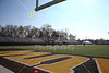 Blackstock Stadium is on the campus of DePauw University located in Greencastle, Indiana and home to the DePauw Tigers - Saturday, November 16, 2019