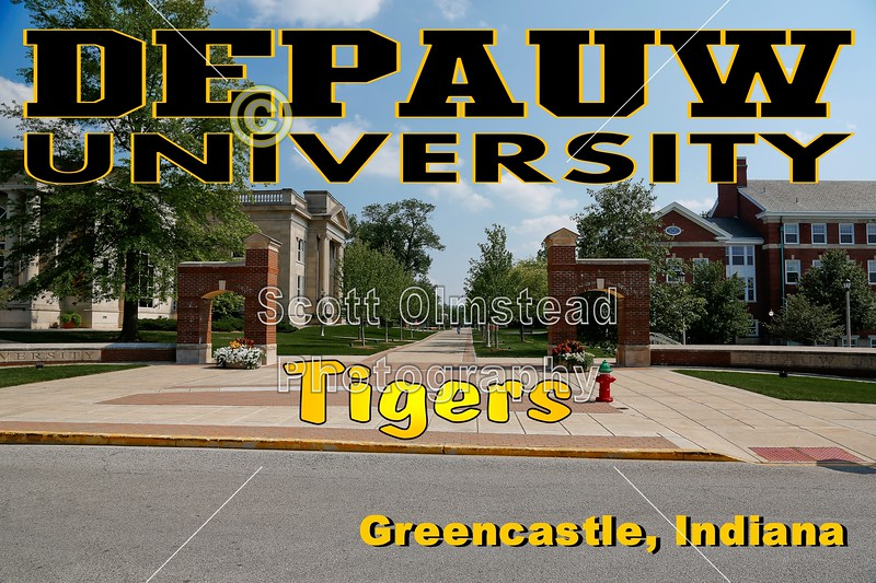 Blackstock Stadium is on the Campus of DePauw University, located in Greencastle, Indiana, and Home to the DePauw University Tigers