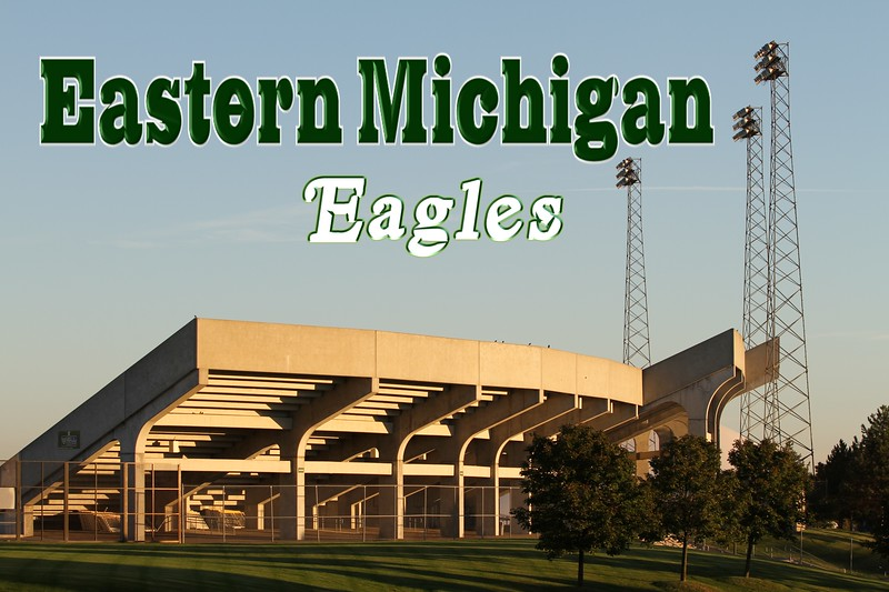 Rynearson Stadium is located in Ypsilanti, Michigan, and is Home to the Eastern Michigan University Eagles