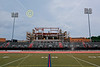 Frostburg State University football stadium is located on campus and home to the Rams.  Obviously I visited during construction of new home stands and pressbox - Sunday, July 21, 2013