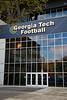 Bobby Dodd Stadium - Georgia Tech University, The Ramblin' Wreck of Georgia Tech, is Located in Atlanta, Georgia, and Home to the Yellow Jackets (Unfortunately All Locked Up) (November 24, 2016)