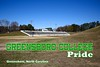 The Greensboro College Pride play their games in Robert B Jamieson Stadium which is located in Greensboro, North Carolina, on the grounds of Grimsley High School - Thursday, November 26, 2015 (Stadium was locked up secure)