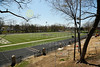 Heidelberg University Stadium was under construction.  The stadium is located on the Campus of Heidelberg University and Home to the Student Princes - Tuesday, April 22, 2014