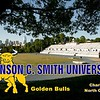 The Irwin Belk Complex is located in Charlotte, North Carolina, and is Home to the Johnson C. Smith University Golden Bulls (04-28-20 - stadium was all locked up)