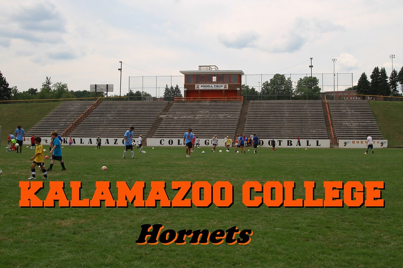 Kalamazoo College is located in Kalamazoo, Michigan, and home to the Kalamazoo College Hornets - July 26, 2010