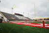 Yager Stadium is located on the Campus of Miami University, located in Oxford, Ohio.  Yager Stadium is home to the Miami RedHawks (used to be Redskins) - Saturday, September 11, 2010