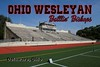 Selby Stadium is on the Campus of Ohio Wesleyan University located in Delaware, Ohio, and Home to the Battlin' Bishops