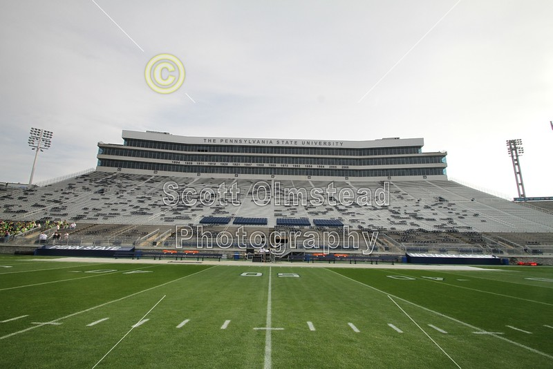 Beaver Stadium is Located on the Campus of Penn State University in State College, Pennsylvania and is Home to the Nittany Lions (Saturday, September 24, 2011)