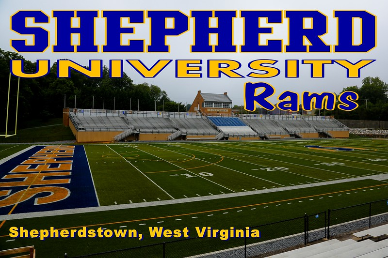 Shepherd University Stadium is on campus located in Shepherdstown, West Virginia, and home to the Shepherd University Rams - Monday, July 23, 2013