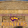 Goerke Field is located in Stevens Point, Wisconsin, and is Home to the University of Wisconsin at Stevens Point Pointers (Saturday, September 14, 2019)
