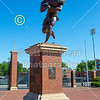 Jerry Richardson Stadium is located in Charlotte, North Carolina, on the Campus of UNC Charlotte and Home to the 49ers (04-27-20, the stadium was all locked up)