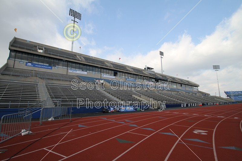 The University at Buffalo stadium and home of the Buffalo Bulls, located in Buffalo, New York.