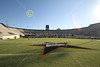 View from the 50-Yard line - Vanderbilt Stadium located in Nashville, Tennessee, and home of the Vanderbilt Commodores