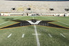 The 50-Yard line - Vanderbilt Stadium located in Nashville, Tennessee, and home of the Vanderbilt Commodores