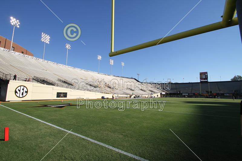 Vanderbilt Stadium located in Nashville, Tennessee, and home of the Vanderbilt Commodores