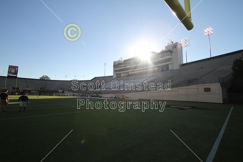 Vanderbilt Stadium located in Nashville, Tennessee, and home of the Vanderbilt Commodores