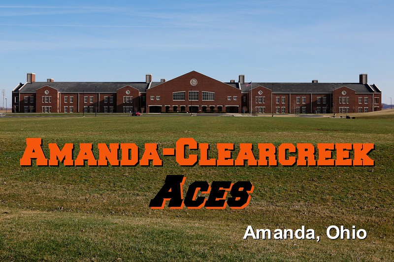 Amanda-Clearcreek High School is located in Amanda, Ohio, and home to the Aces - Sunday, April 6, 2014