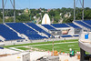 (Tom) Benson Hall of Fame Stadium is located in Canton, Ohio, and is the replacement for previous Fawcett Stadium.  Benson Stadium is Home to Local Area High Schools and Ohio High School State Championship Football Games. It is also the home stadium for local Colleges and Universities and the Division III National Championship Stagg Bowl in 2018. Benson Hall of Fame Stadium also plays host to the Annual Professional Football Hall of Fame Game played every August.  The Pro Football Hall of Fame is located directly north of the stadium. (Tuesday, July 4, 2017)
