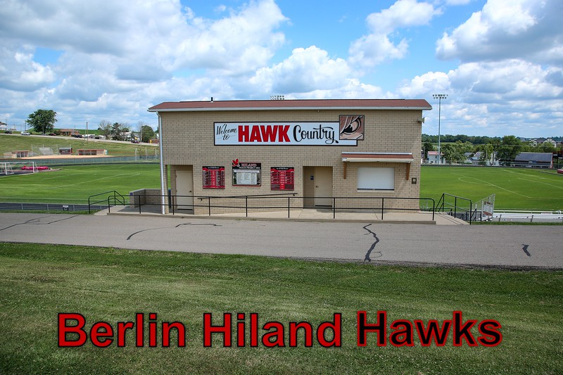 Berlin Hiland High School is located in Berlin, Ohio, and home to the Hawks.  Unfortunately, Berlin High School does not have a football team, only soccer. - Saturday, July 28, 2018