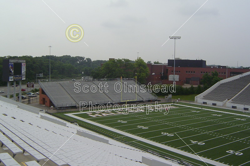 Fawcett Stadium is located in Canton, Ohio.  It is the home of the Canton McKinley Bulldogs High School, as well as Canton Timken Trojans High School, Walsh College Cavaliers and Malone College Pioneers.  The Professional Football Hall of Fame game is also played in Fawcett Stadium.