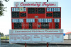 Centerburg High School is located in Centerburg, Ohio.  They have a new school and continue to play their Varsity games behind the Centerburg Elementary School and is home to the Centerburg Trojans  (May 31, 2014)