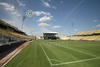 The Columbus Crew Stadium is actually the home of the Columbus, Ohio, MSL (soccer) team.  Often high school football games are also hosted in Crew Stadium.