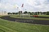 "Harley Field is home to the Columbus East High School Tigers.  The stadium is named after Ohio State Buckeye Great ""Chic"" Harley - Thursday, June 26, 2014 (The Stadium was locked up tight)"