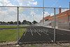 Columbus South High School is located in Columbus, Ohio, and home to the Columbus South Bulldogs - Friday, June 27, 2014  (The Stadium was locked up tight)