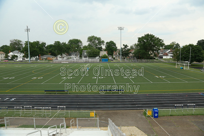 Grandview Heights Football Stadium, Anderson Field, is located in Grandview, Ohio, and Home to the Grandview Heights Bobcats - Friday, June 20, 2014