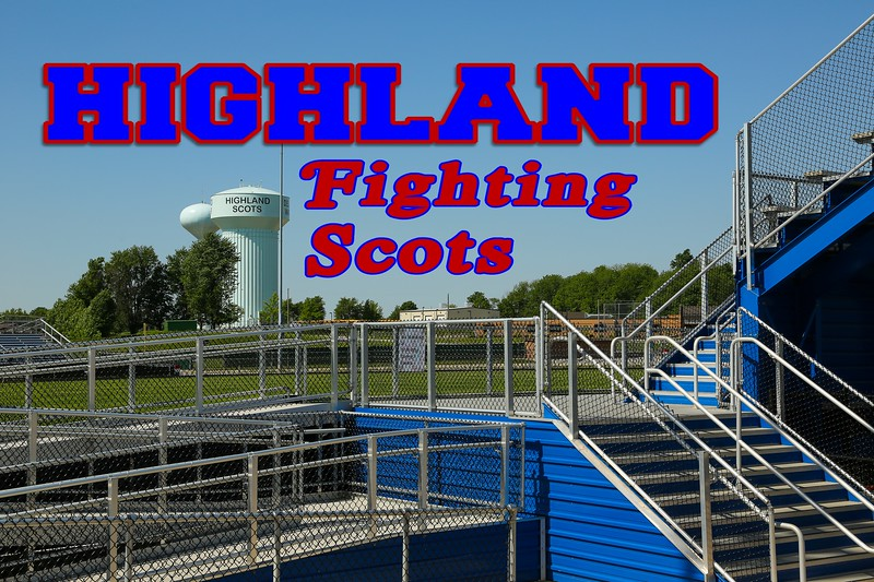 Highland High School is located in Sparta, Ohio, and home to the Highland High School Fighting Scots  (May 31, 2014)