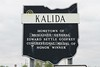 Kalida High School is located in Kalida, Ohio, and home to the Wildcats.  However as I approached the high school I was regretably informed by a coach that Kalida elected to have a soccer team instead of a football team, thus, no football stadium.  (Do not look for me to be moving to Kalida anytime soon.  Some that know me would say that is good news for Kalida.  Soccer?)