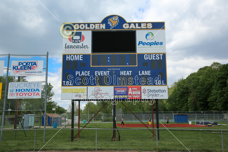 Lancaster High School Is Located In Lancaster, Ohio. They Play Their Games  On Fulton