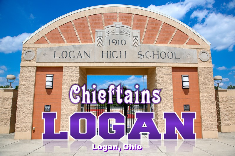 Logan High School is located in Logan, Ohio, and Home to the Chieftains (The facility was extremely nice but locked up very tight) Sunday, June 26, 2016