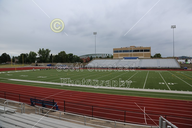 Don Drumm Stadium is located in Marietta, Ohio, and home to the Marietta High School Tigers