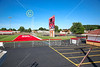 Minerva High School is Located in Minerva, Ohio, and Home to the Minerva Lions - Tuesday, July 4, 2017 (Stadium all locked up tight, NO ACCESS)