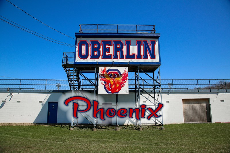 Oberling High School is located in Oberlin, Ohio , and home to the Obelin Phoenix  (Saturday, April 16, 2016)