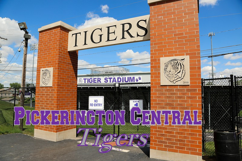 Pickerington Central is located in Pickerington, Ohio.  Their Stadium is not located at the High School, but at the Middle School and is home to the Pickerington Central Tigers.  (This Stadium was completely locked up and secured.)