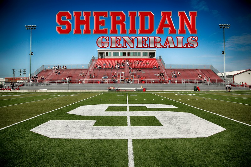 Paul Culver Jr. Stadium is located in Thornville, Ohio, and home to the Sheridan Generals - Saturday, August 29, 2015