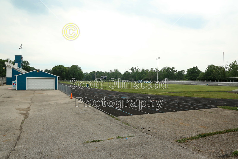 Whetstone High School is located in Columbus, Ohio, and home to the Whetstone Braves - Friday, June 20, 2014  (The Stadium was locked up tight)