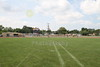View from the 50-yard line - Whitehall-Yearling High School located in Whitehall, Ohio, and home of the Whitehall Rams.