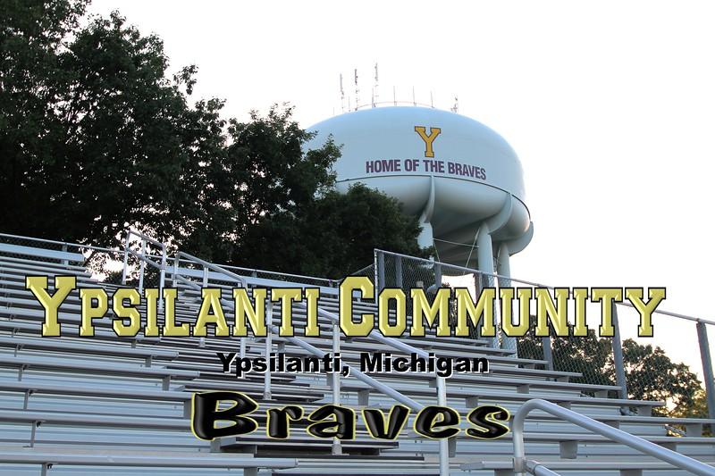 Ypsilanti Community High School is located in Ypsilanti, Michigan, and home to the Ypsilanti Community High School Braves (July 14, 2011)
