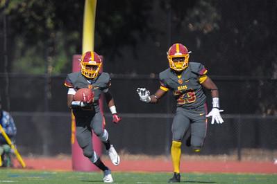 Hillsdale High School vs. M-A Varsity Football, 2016-10-29