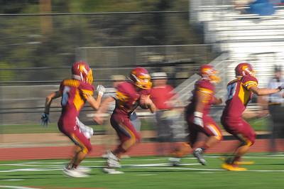 Menlo Atherton Varsity Football vs. Los Gatos High, 2014-09-12