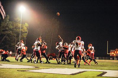 Menlo Atherton High Bears Varsity Football vs. Half Moon Bay High School 2012-10-12
