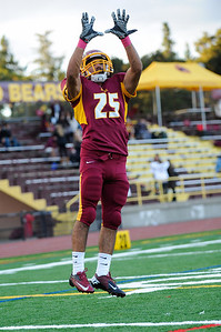 Menlo Atherton High Bears Varsity Football vs. Burlingame High School 2012-10-12