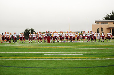 M-A Bears Varsity Football vs. St. Ignatius 2012-09-15