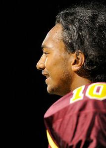 Menlo Atherton High School vs. El Camino High, Varsity Football, 2011-09-02
