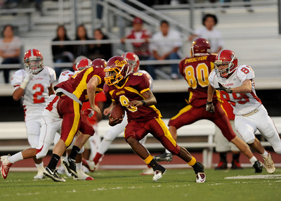 Menlo Atherton High School vs. El Camino High, Varsity Football, 2011-09-02