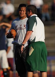 Menlo Atherton High School Football Scrimmage, August 26 2011